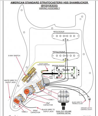 shawbucker wiring leading questions fender stratocaster. Black Bedroom Furniture Sets. Home Design Ideas