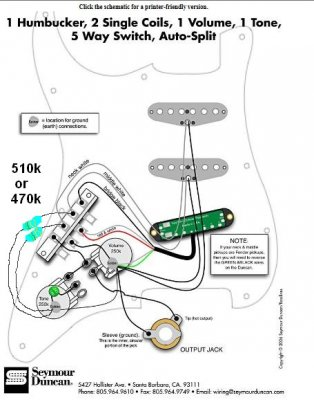 single single humbucker 5 way switch 1 vol 1 tone wiring fender stratocaster guitar forum. Black Bedroom Furniture Sets. Home Design Ideas