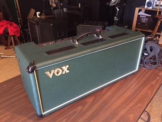 vox ac30 head green tolex fender stratocaster guitar forum. Black Bedroom Furniture Sets. Home Design Ideas