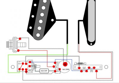 Series Wiring help - Telecaster | Fender Stratocaster Guitar ... on