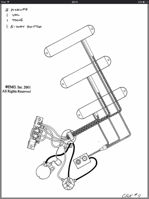 Emg Strat Wiring Diagrams