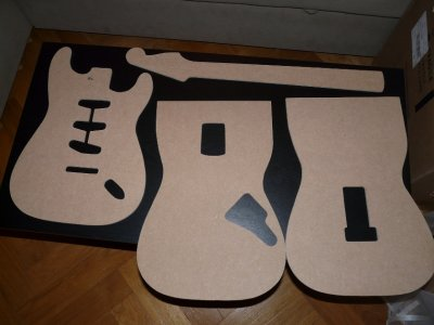 Fender Stratocaster Replica Build Templates And Draft Body