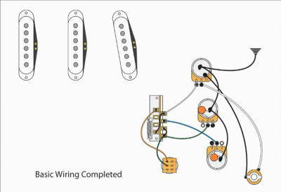 Fender Powerhouse Strat Wiring Diagram in addition Wiring Diagram Fender Vintage Noise Less further Fender Lead I Wiring Diagram besides Master Tone Master Volume Passive Midrange And as well Clapton Stratocaster Assembly Question Wiring. on stratocaster wiring diagram tbx