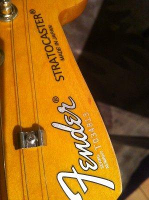 Fender mij serial dating