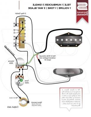 WIRING MIM LH TELE HUMBUCKER NECK Fender Stratocaster