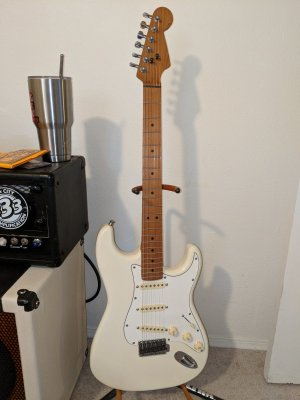 NND  Warmoth roasted maple | Fender Stratocaster Guitar Forum