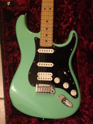 seafoam green pickguard color change fender stratocaster guitar forum. Black Bedroom Furniture Sets. Home Design Ideas