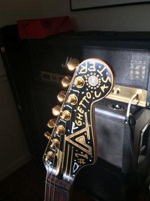 Squier Bullet Strat 'Ghettocaster' | Fender Stratocaster