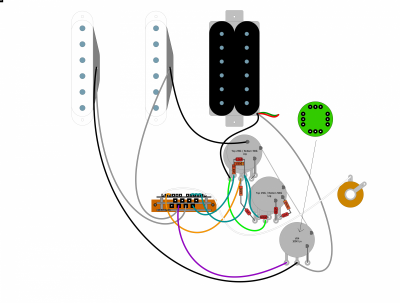 [SCHEMATICS_48YU]  Overdoing Fat Strat wiring? | Fender Stratocaster Guitar Forum | Fender Fat Strat Hss Wiring Diagram |  | Strat-Talk