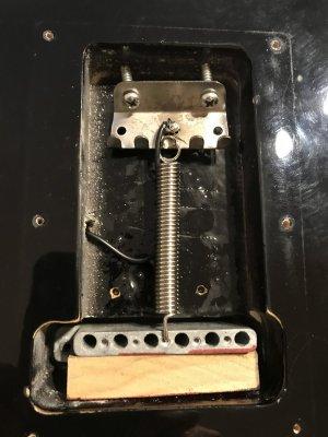 Wood Tremolo Block Eric Clapton Signature Series Stratocaster