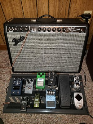 Show me your pedal boards! My first is complete   Page 5