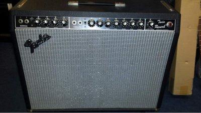 Fender twin reverb silverface 135w