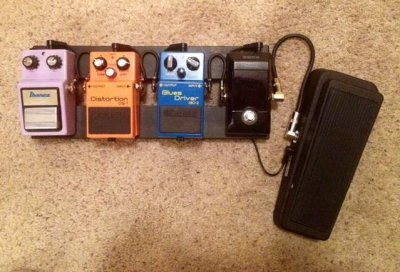small pedalboard for blues rock trio fender stratocaster guitar forum. Black Bedroom Furniture Sets. Home Design Ideas
