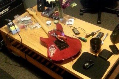 Ashton Electric Guitar - Replacing pickups / electronics | Fender ...