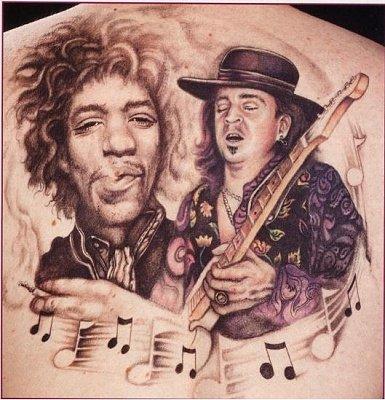 Stratocaster tattoo fender stratocaster guitar forum for Stevie ray vaughan tattoo
