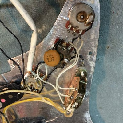 fender custom shop components and wiring, are they differentCustomstratwiring Custom Strat Wiring #18