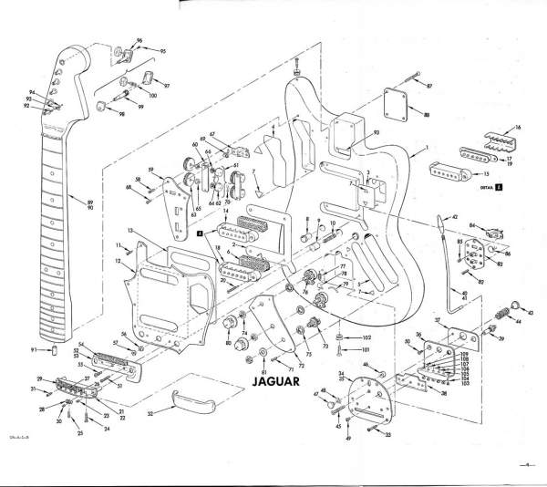 jaguar exploded view