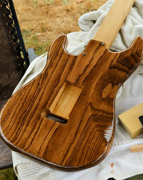 Minwax Provincial Stain Fender Stratocaster Guitar Forum